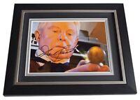 Derek Jacobi Signed 10x8 Framed Photo Autograph Display Doctor Who TV AFTAL COA