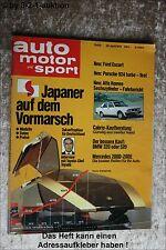 AMS Auto Motor Sport 9/79 * Porsche 924 turbo DB 450 SLC Rallye 350 SL TR6
