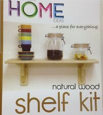 Natural Wood Shelf Kit Pine 1185mm