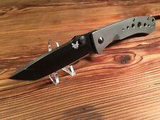 "Benchmade LFTi Bob Lum 4"" Black Tanto Plain Edge Blade - BM760BK"