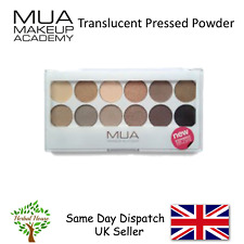 MUA Make Up 12 Shade Eyeshadow Palette - UNDRESS ME TOO 9.6g