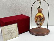 Ne'Qwa Art Retired Gypsy Rose by Jessica Galbreth Ornament & Bonus Stand Nwt