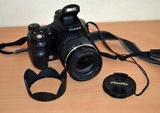 Fujifilm FinePix S6000fd 6.3MP Digital Camera Black tested WORKING