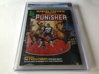 MARVEL PREVIEW 2 CGC 9.6 1ST PUNISHER ORIGIN 1ST APP DOMINIC FORTUNE MAGAZINE A