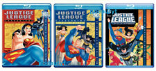 JUSTICE LEAGUE+Unlimited Blu-ray The Complete Series 3 Bundle Sets Seasons 1 2