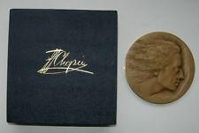 POLISH COMPOSER FREDERIC CHOPIN PIANIST MUSIC MEDAL 1980 year MARKED + box