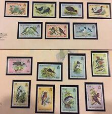 Montserrat 524-538 complete set of Bird stamps MNH. Birds 1984