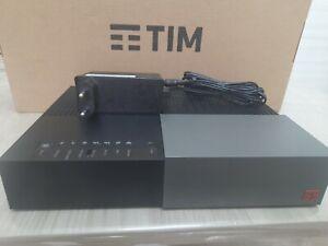 MODEM  TIM HUB   FIBRA ADSL VDSL sofrw 2.2.1  WIFI 1000 MEGA AUTOINSTALANTE