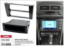 CARAV 11-009 1DIN Kit de instalación de radio MERCEDES-BENZ E W211 CLS C219 w/po