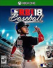 R.B.I. Baseball 18 (Microsoft Xbox One, 2018) *Great Condition*