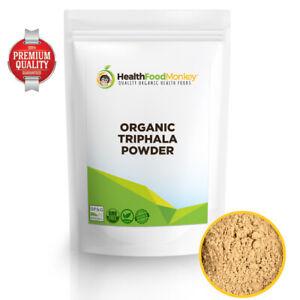 Organic Triphala Powder (UK Certified) 50g 100g 250g 500g 1kg 2kg 5kg Vegan