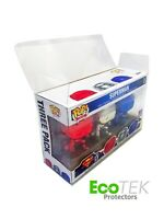 Lot 1 4 20 30 Collectible Funko Pop Protector Case for LONG 3-Pack Vinyl Figures
