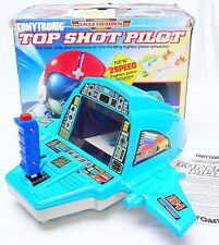 "Tomy Tomytronic TOP SHOT PILOT ""EAGLE SQUAD"" Tabletop LSI Game MIB`85 TOP RARE!"