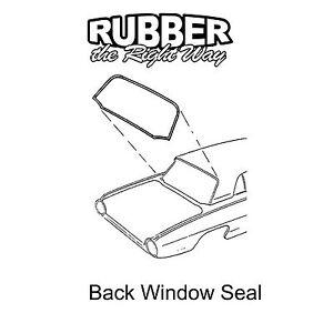 1961 1962 1963 Ford Thunderbird Back Window Seal