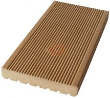 Terrassendielen Holz Garapa MUSTER 25mm x 145mm fein gerillt Oberfläche Premium