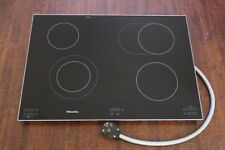 """Miele KM5656 30"""" Electric Smoothtop Cooktop 6 Cooking Zones w/Infrared Controls"""