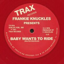 "KNUCKLES, Frankie - Baby Wants To Ride (reissue) - Vinyl (12"") Trax"