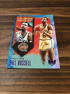 "Bill Russell ""Academy Of Fine Arts"" ""purple."" 2019-20 Court Kings 56/99"