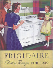 1939 FRIGIDAIRE ELECTRIC RANGES SALESMAN BROCHURE