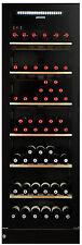 VINTEC V190SG2EBK 170 Bottle Multi Zone Wine Cellar