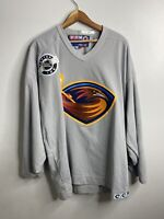 Atlanta Thrashers NHL CCM  Vintage Jersey Size 2XL Grey Rare 90s