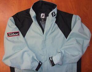 FootJoy Titleist DryJoys Tour Issue Waterproof Performance Golf Jacket S ~NEW~