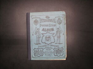 VINTAGE SCOTT INTERNATIONAL ALBUM 1901-1912 EDITION!