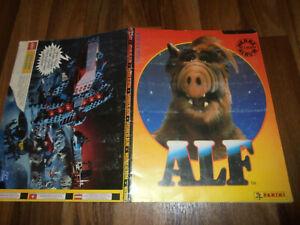 Panini Sammelbilderalbum/Sticker Album:  ALF -- von 1989 mit 150 von 216 Bildern