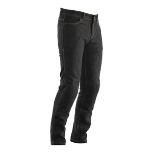 RST ARAMID CE Black Straight Leg High Abrasion Drag Denim Motorbike Armour Jeans