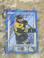 2020-21 Topps FOIL David Pastrnak Boston Bruins NHL Hockey Sticker #39