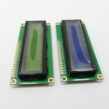5V Verde/Blu 1602A LCD Display Module + IIC/I2C adattatore parallelo 162 16x2