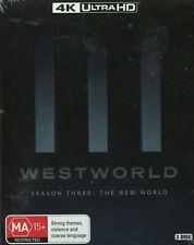 Westworld Season 3 The World 4k Ultra HD 2020 Region B Aus