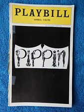 Pippin - Imperial Theatre Playbill - November 1976 - Michael Rupert - Berry