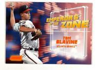 2019 Topps Stadium Club Emperors of the Zone Orange #EZ-7 Tom Glavine /50