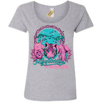 Aggressive wildlife T-Shirt Womens Ladies Scoop