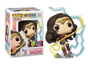 Wonder Woman WW 1984 Funko Pop GITD NYCC Shared Exclusive IN Stock UK