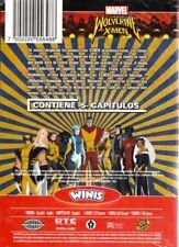 Marvel- Wolverine Y Los  X-MEN , DVD Con 5 Capitulos