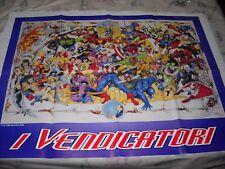 POSTER MANIFESTO AVENGERS I VENDICATORI MARVEL  !!! No Corno rarita' 1996