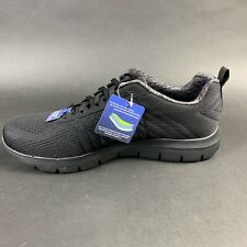Skechers Flex Advantage Men's Lace Up Athletic Sneaker Shoes Black Size US 12