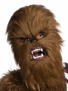 Chewbacca Moveable Jaw Mask for Adults - Disney Star Wars