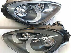HEADLAMP HID Xenon W/AFS W/O DRL LH&RH Sides Fit 2011-2018 Porsche Cayenne Gray
