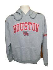 UH University of Houston Cougars Adult Large Gray Hoodie Sweatshirt