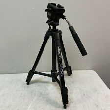 Magnus VT-100 Tripod System with 2-Way Pan Head Great Condition
