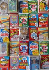 75 OLD VINTAGE BASEBALL CARDS IN UNOPENED FACTORY SEALED PACKS
