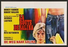 ROAD TO SALINA LA ROUTE DE SALINA Belgian movie poster 14x22 MIMSY FARMER 1971
