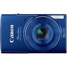 Canon PowerShot ELPH 150 IS 20MP Digital Camera 10x optical zoom (Blue)