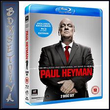 WWE: LADIES AND GENTLEMEN, MY NAME IS PAUL HEYMAN    ***BRAND NEW BLU-RAY **
