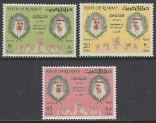 Kuwait 1966 ** Mi.339/41 Thronfolger Heir apparent Scheichs Sheiks