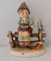 Goebel     1948 Boy on Fence 204  20 Western Germany Hummel by W