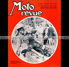 MOTO REVUE N°1864 ★ TORSTEN HALLMAN ★ YAMAHA 250 DT1 ★ HONDA CB 125 & 450 ★ 1967